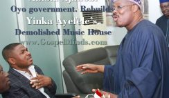 Abiola Ajimobi, Oyo Govt. Rebuilds Yinka Ayefele's demolished Music House
