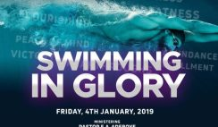 RCCG January 2019 Holy Ghost Service Theme- Swimming In Glory